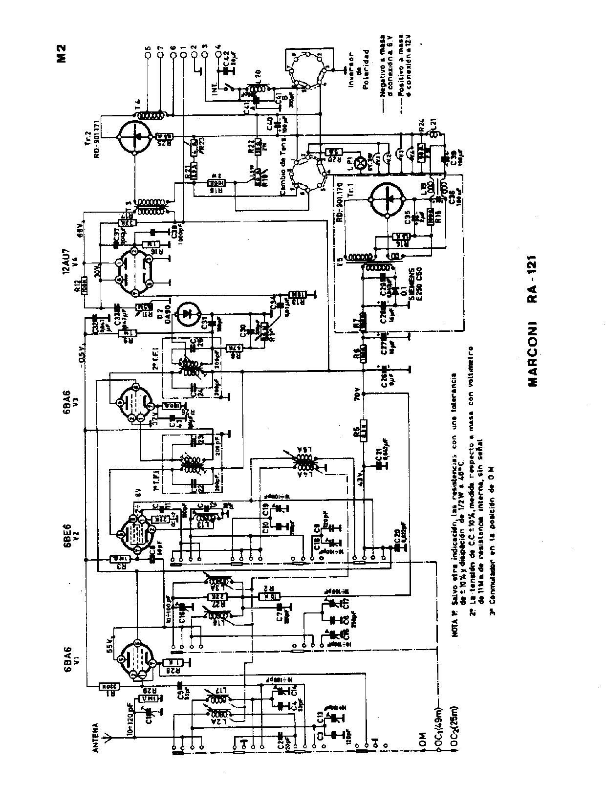 circuitos parte tres   radios antiguas a valvulas